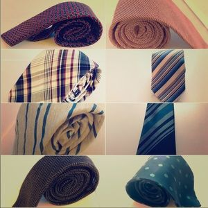 Other - 7 men's neckties *Mad Men tie has been sold*